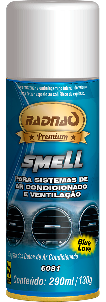 Limpa Ar Condicionado Smell Blue Love