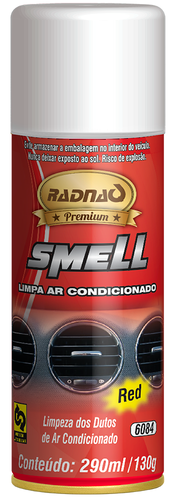 Limpa Ar Condicionado Smell Red