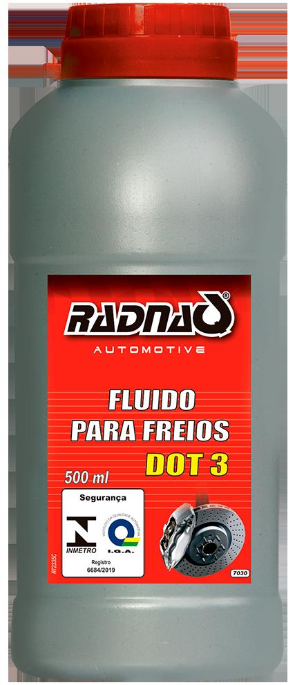 Fluido de Freio DOT3 500ml
