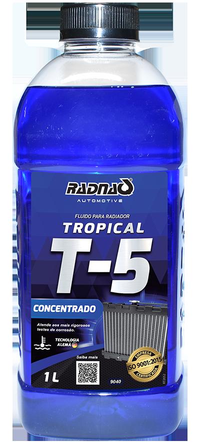 Fluido para Radiador Tropical T5 Azul