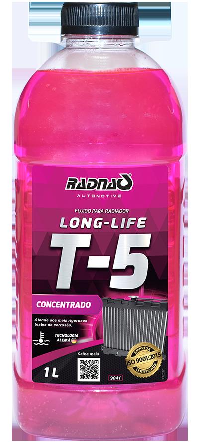 Fluido para Radiador Long Life T5 Rosa