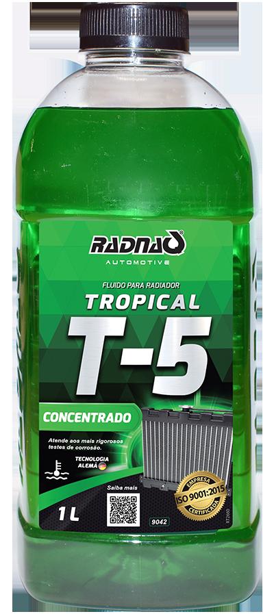 Fluido para Radiador Tropical T5 Verde