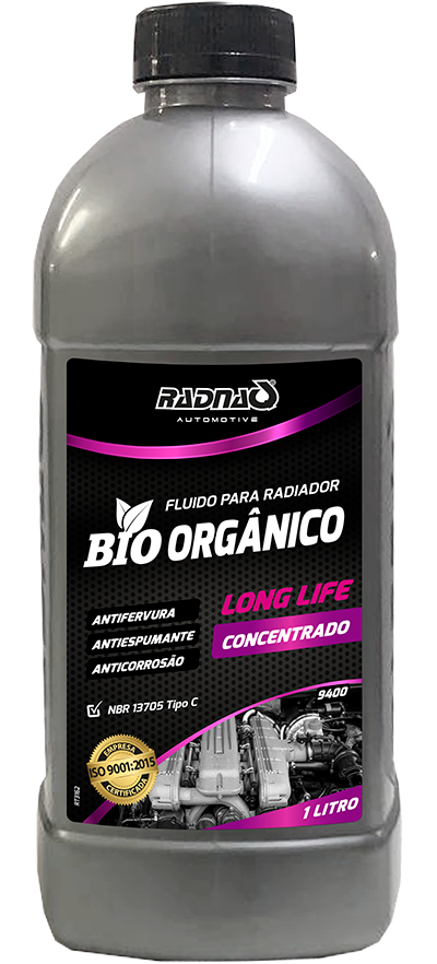 Fluido para Radiador Bio Orgânico Long Life Concentrado