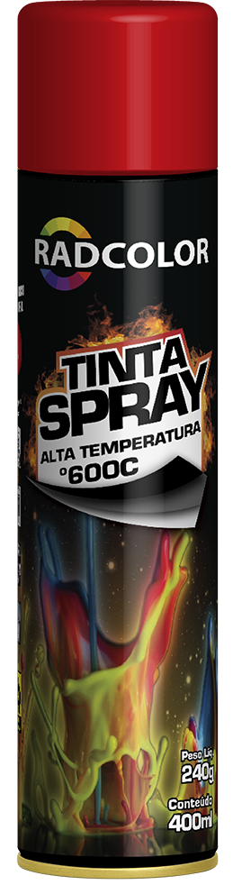 Tinta Spray Radcolor